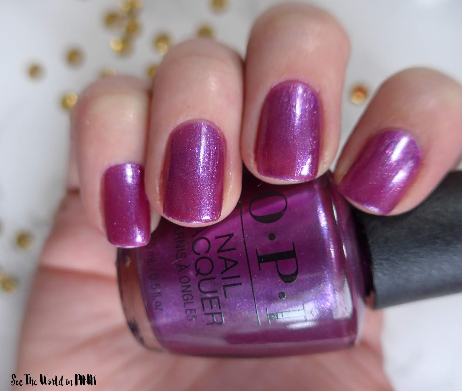 OPI The Nutcracker and the Four Realms Collection ~ Berry Fairy Fun