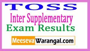 TSOSS OPEN SCHOOL Inter Supplementary Results 2017