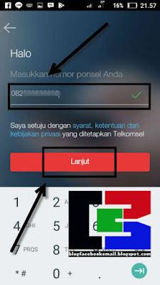 cara daftar akun di aplikasi mytelkomsel terbaru