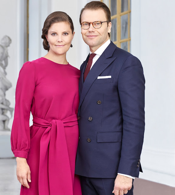 he Swedish Royal Court has released new photos of Crown Princess Victoria, Prince Daniel, Princess Estelle and Princess Madeleine of Sweden.