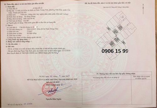 Chung cư A14 Nam Trung Yên giá chỉ từ 1,2 tỉ đồng-3