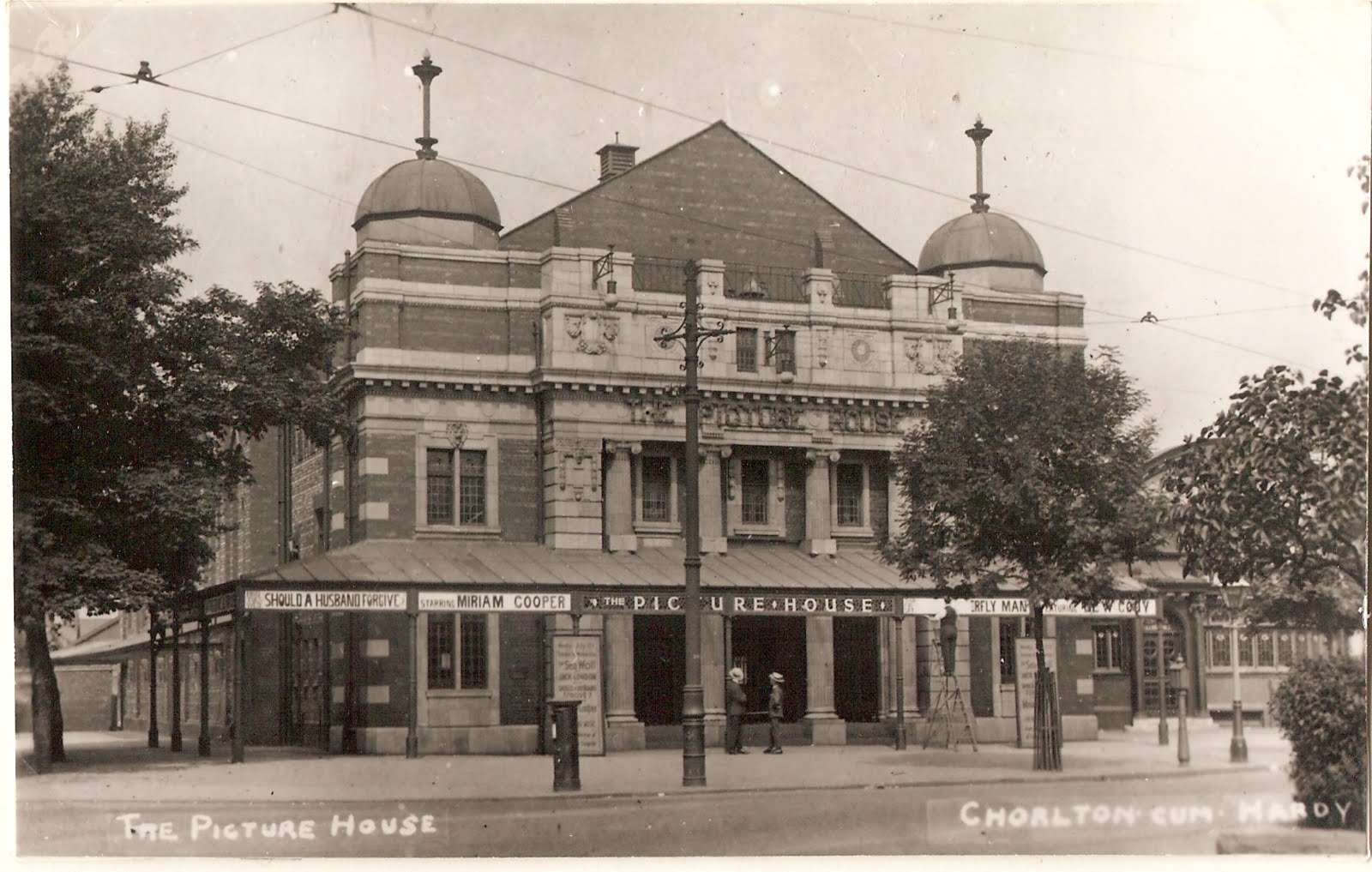 But it is also the little detail in the photograph that makes it special. Just in front of the cinema is the emergency telephone for summing the fire ... & Andrew Simpson: Sometime on a summers day in the early 1920s and a ...