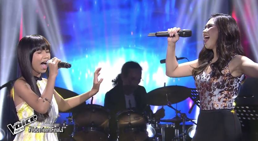 """VIDEO: Coach Sarah and Jona sing """"Better Days"""" on The Voice Teens Grand Finals"""