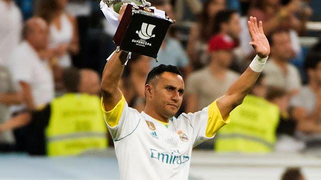 Real Madrid Ingin Beli Kiper Baru, Navas Santai