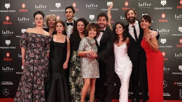 los lunes seriéfilos ganadores premios feroz 2019