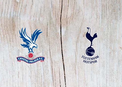 Crystal Palace vs Tottenham Full Match & Highlights 10 November 2018