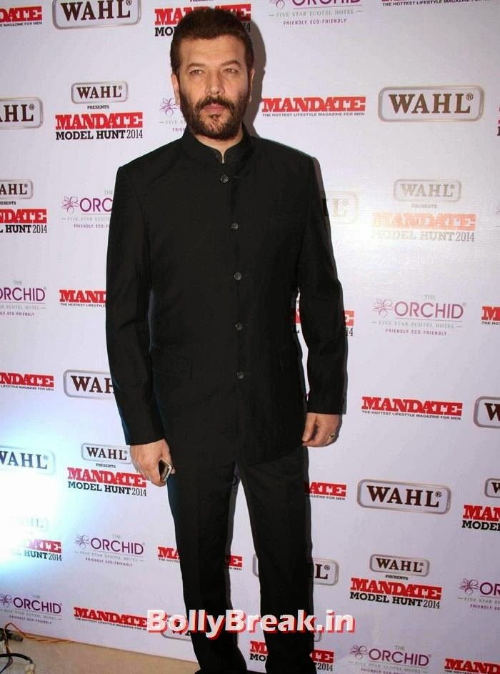 Aditya Pancholi, Mandate Model Hunt 2014 Grand Finale Photo Gallery