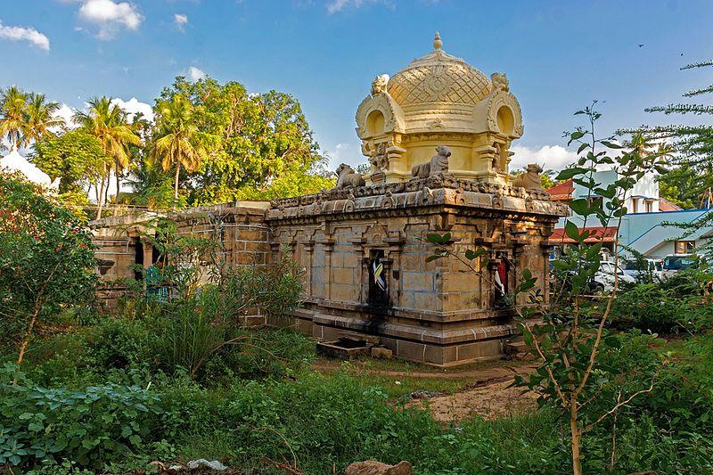 Agastheeshwarar Temple, Pozhichalur