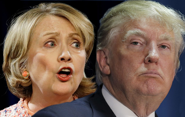 Clinton and Trump - US Presidential Elections
