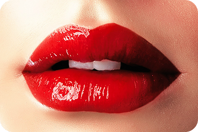 bright and bold makeup wear red lips