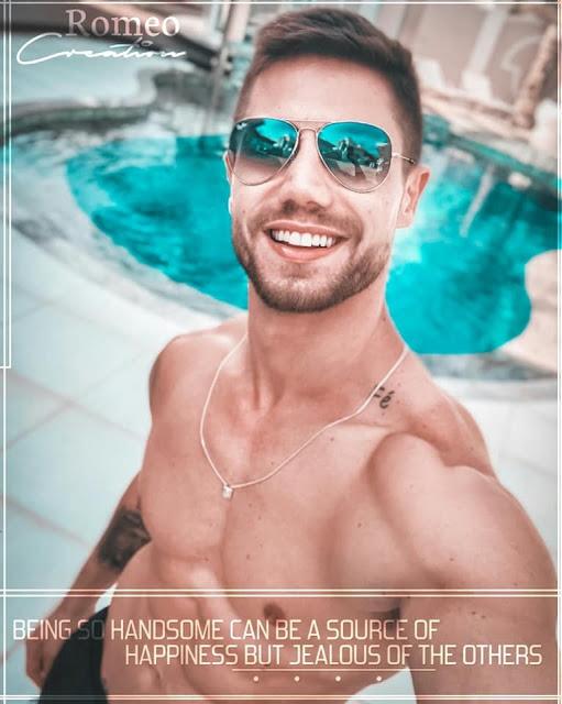 Brazilian model smiling picture