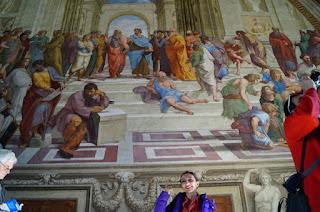 Vatican- sala Semnaturilor- Scoala din Atena- Rafael