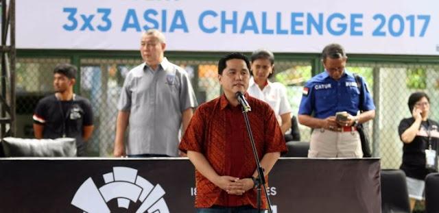 Erick Thohir Ditantang Adu Lari Sama Sandi dan AHY ala Tentara, Sanggup?