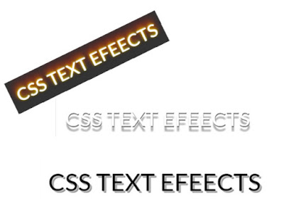 Cara Membuat CSS3 Text Hover Effects (3D)
