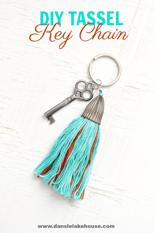 DIY Tassel Key Chain