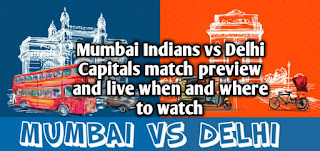 IPL 2019: Mumbai Indians vs Delhi Capitals match preview and live when and where to watch