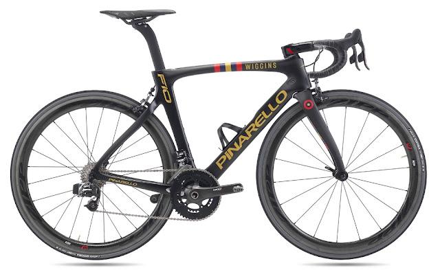 Pinarello F10 Team Wiggins, un lujo de bici