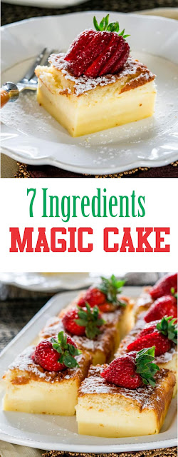 Delicious Magic Cake Recipe