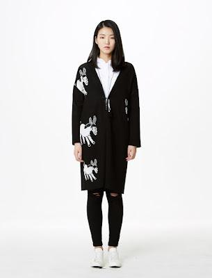 Mindbridge Seolhyun Black Donkey Coat