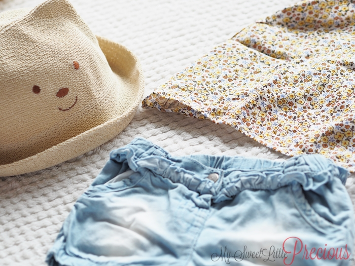krótkie spodenki kapelusz
