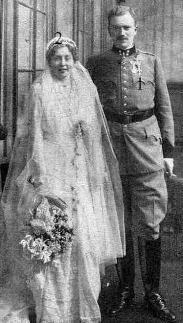mariage  Thun von Hohenstein-Lobkowicz 1916.