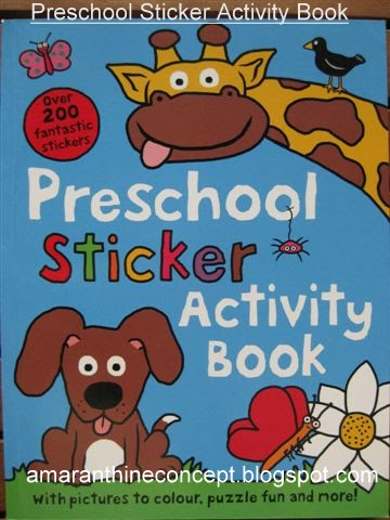 Amaranthine Concept: Sticker Activity Books