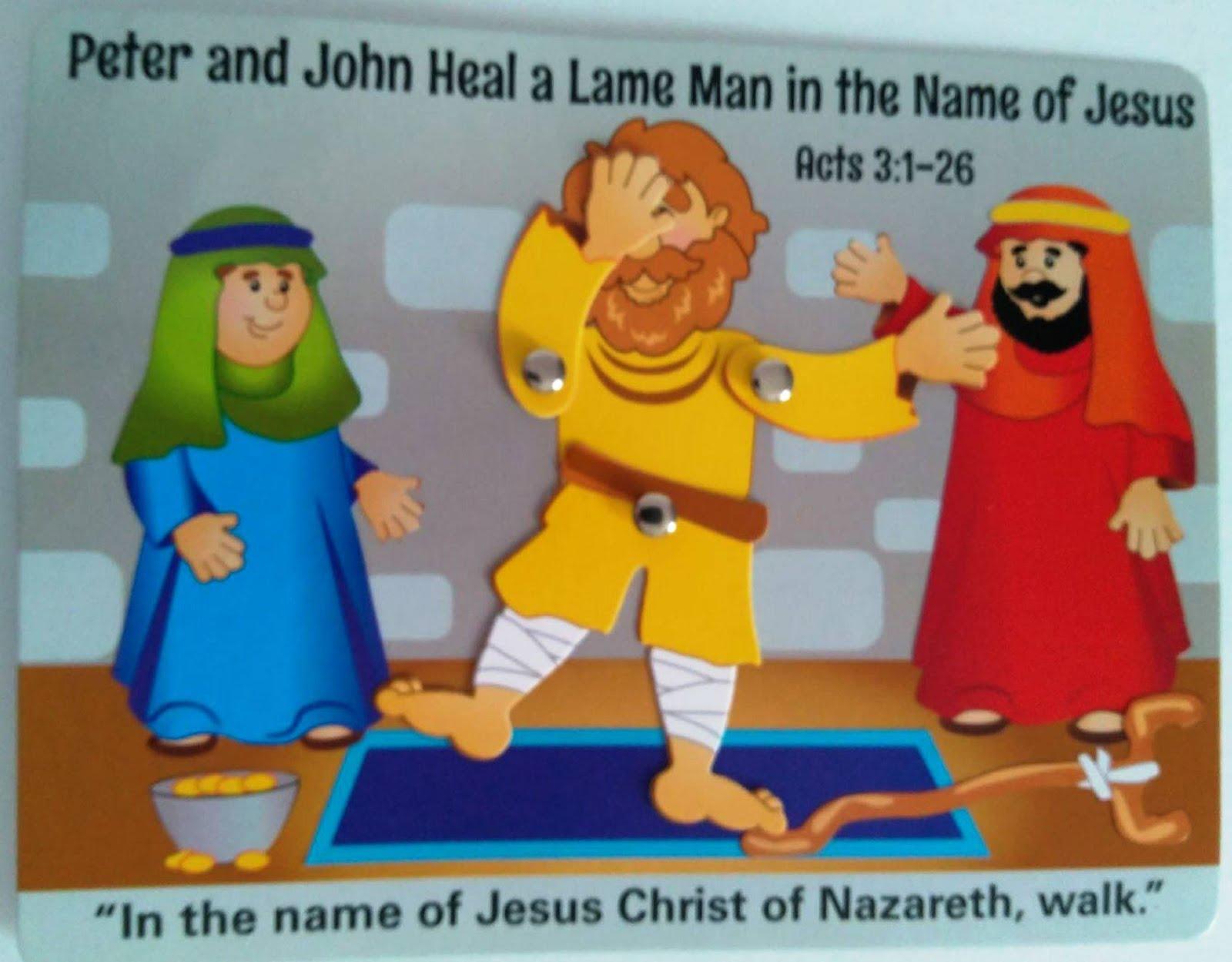 Petersham Bible Book Amp Tract Depot Peter Amp John Heal A