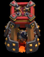Torre de Bombas nível 4 - Bomb Tower