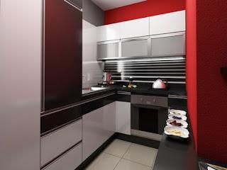 Moderna cocina pequeña