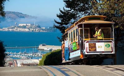 Passeios de bondinho em San Francisco