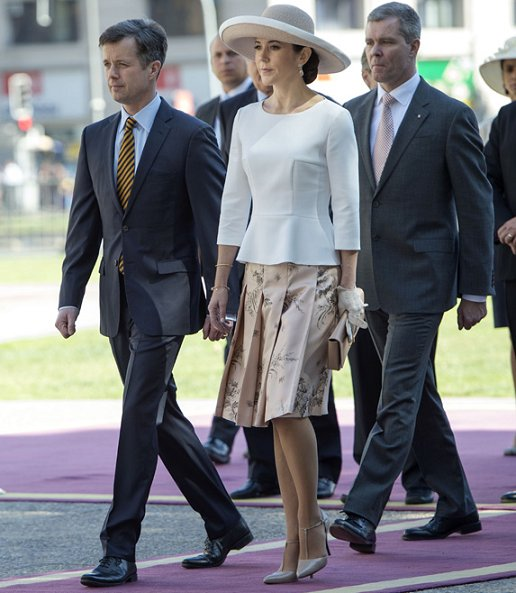 Crown Prince Frederik of Denmark and his wife Mary are now wrapping up their five-day tour of Chile
