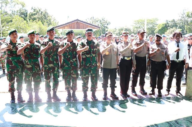 Panglima TNI Apresiasi Prajurit TNI-Polri Di Papua