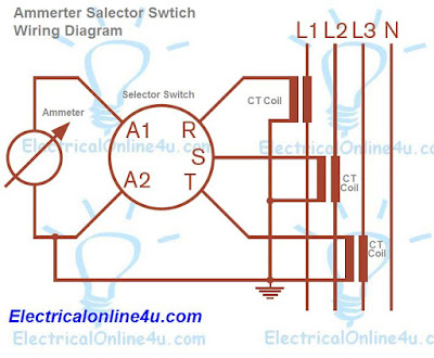 ammeter selector switch wiring diagram