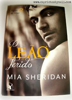 O Leão ferido, Mia Sheridan, Editora Arqueiro