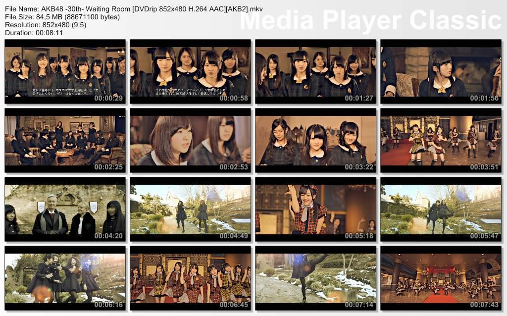 AKB48+-30th-+Waiting+Room+%5BDVDrip+852x480+H.264+AAC%5D%5BAKB2%5D.mkv_thumbs_%5B2013.07.24_16.59.56%5D.jpg (1024×638)