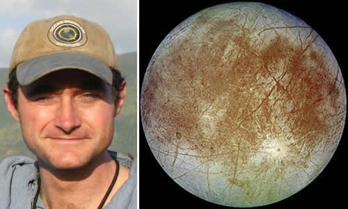 Dr. Kevin Hand, astrobiólogo de NASA