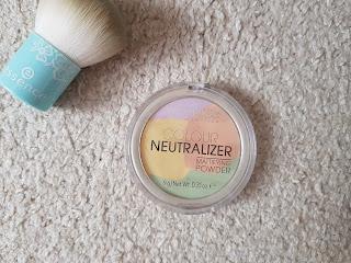 Catrice Colour Neutralizer puder - teszt