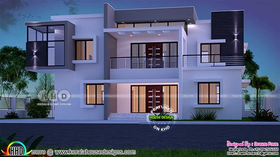 Box model 5 bedroom box type home 3989 sq-ft