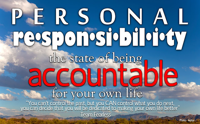 Personal Responsibility - Photo by Jephyr