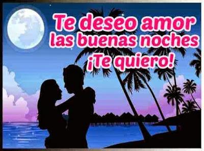 Frases de feliz noche amor: