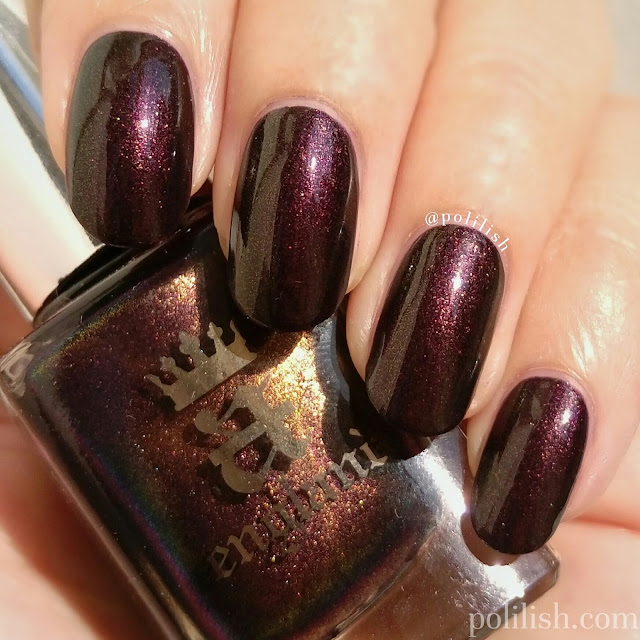 Swatch of A-England 'Incense Burner' | polilish