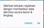 Cara Menghilangkan Pop Up Registrasi Kartu Yang Selalu Muncul