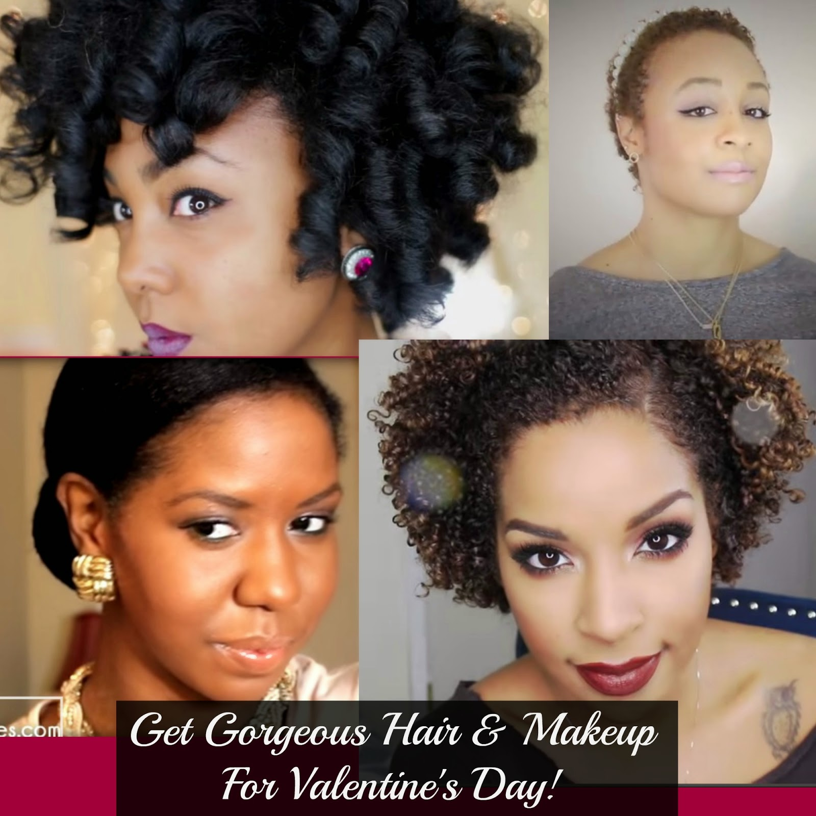 Get Gorgeous Hair & Makeup For Valentine's Day!