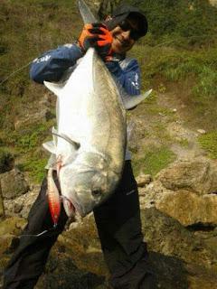 Landbase dan rock fishing ala Londo Edan