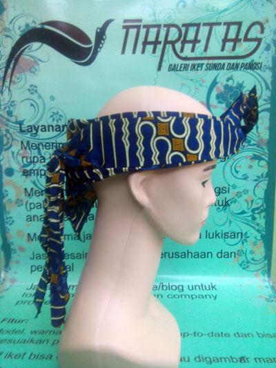 Iket Batik Sunda