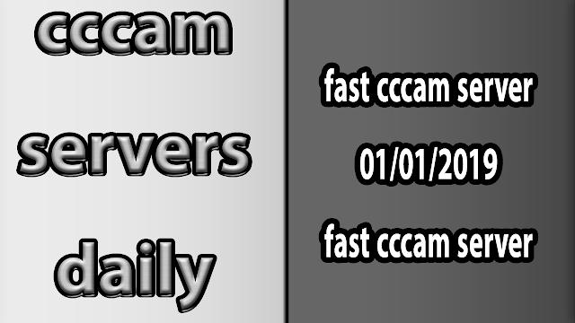 fast cccam server 01/01/2019 fast cccam server