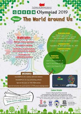 Green Olympiad by TERI