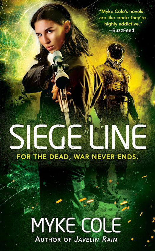 Review: Siege Line by Myke Cole