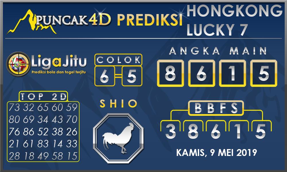 PREDIKSI TOGEL HONGKONG LUCKY7 PUNCAK4D 09 MEI 2019