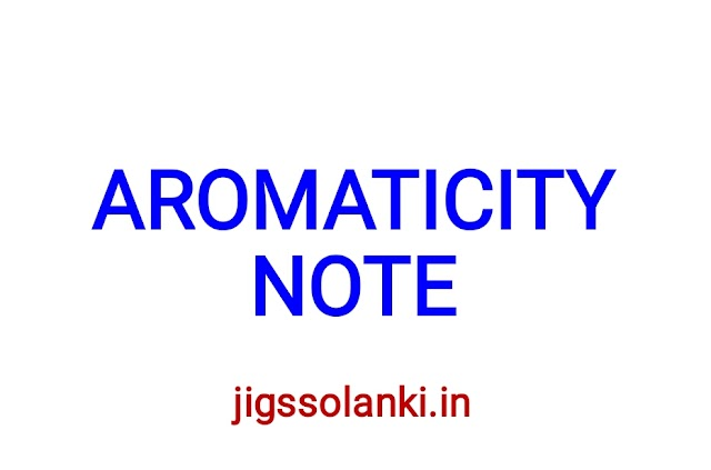 AROMATICITY NOTE FOR CAIR NET/SET/GATE/IIT-JAM